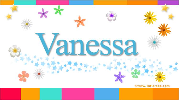 Vanessa, imagen de Vanessa