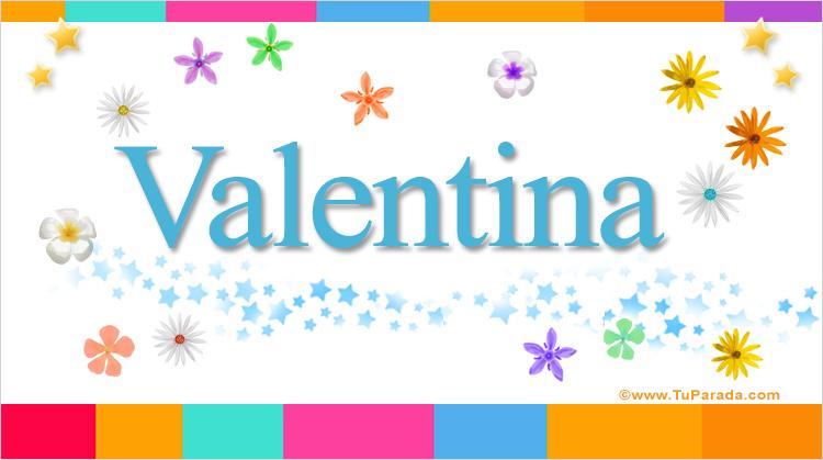 Valentina, imagen de Valentina