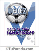 Tarjeta - Para el más fanático de Vélez