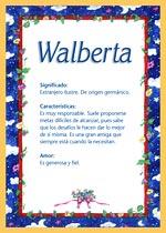 Nombre Walberta