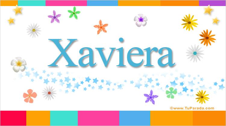 Xaviera, imagen de Xaviera