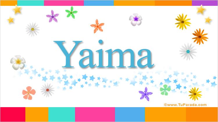 Yaima, imagen de Yaima