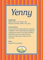 Nombre Yenny
