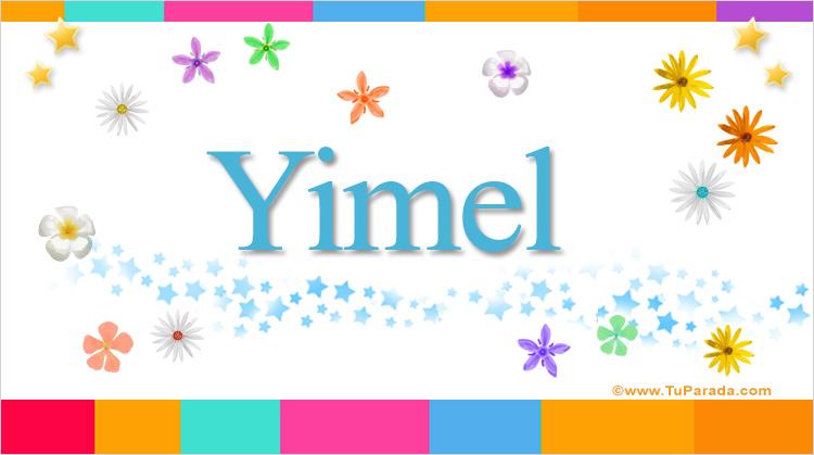 Yimel, imagen de Yimel