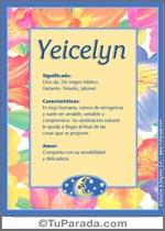 Nombre Yeicelyn