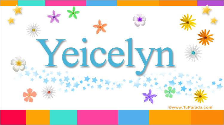 Yeicelyn, imagen de Yeicelyn