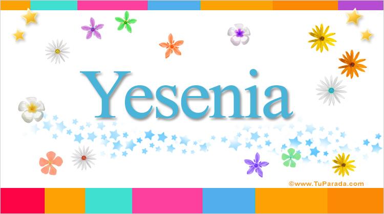Yesenia, imagen de Yesenia