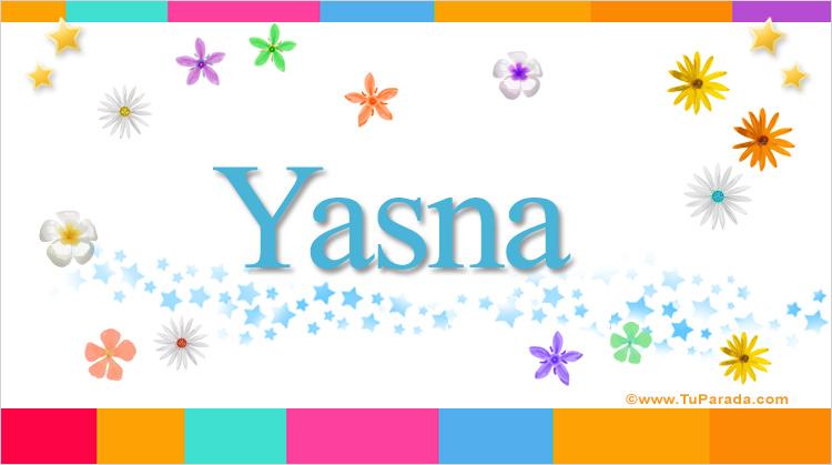 Yasna, imagen de Yasna