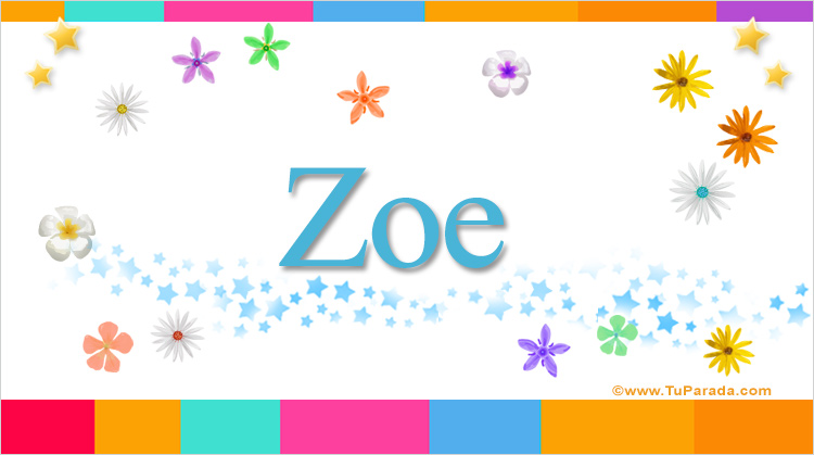 Zoe, imagen de Zoe