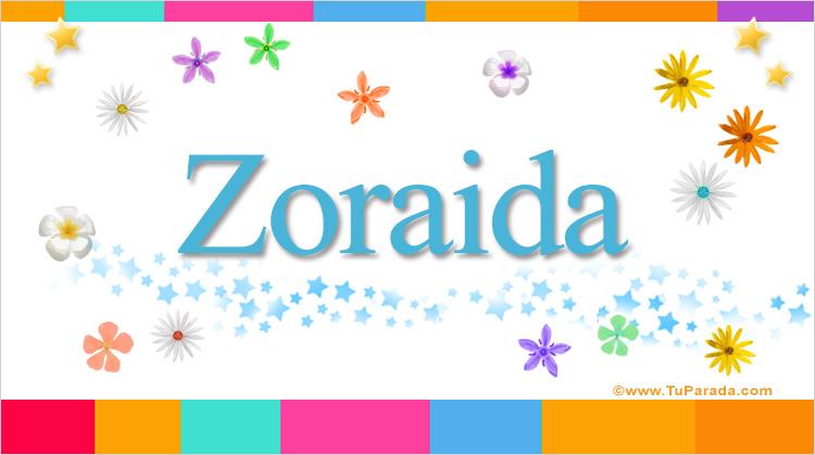 Zoraida, imagen de Zoraida