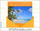Tarjetas postales: Hoy quise enviarte...