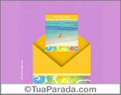Cartões de amizade - Cartões postais: Envelope Surpresa Amizade