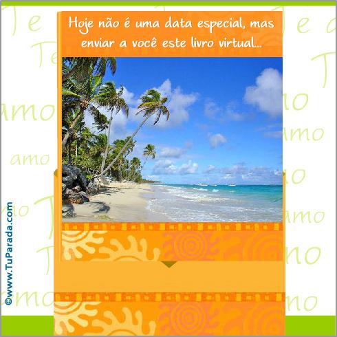Cartão - Envelope Surpresa - Te amo