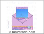 Envelope Surpresa - Um dia...