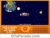 Tarjetas postales: Juego Planetas