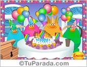 Tarjetas postales: Juego: Arma la fiesta de Cumpleaños