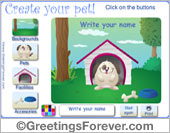Greeting ecards: Create your pet!