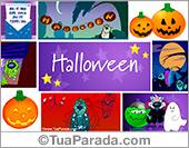 Cartões postais: Cartões de Halloween