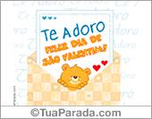 Cartões de São Valentim