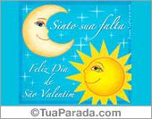Cartões postais: Feliz Dia de São Valentim