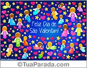 Cartões postais: Cartão do Valentim
