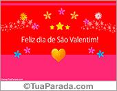 Cartões postais: Cartões de São Valentim