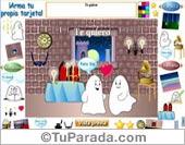 Modelo Fantasmín - Crea una tarjeta para alguien especial.
