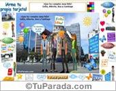 Modelo Ciudad - Crea tarjetas en diferentes lugares de la ciudad.