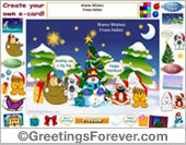 Christmas eCard: Warm Wishes