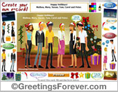 Create your e-card: Happy Holiday!