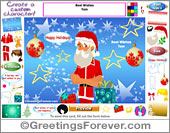 Create your Christmas Greeting card!