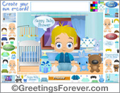 Ecards: Boy Baby Shower ecard