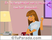 Tarjeta de Cumpleaños para mujeres