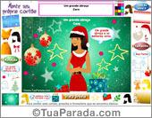 Monte um cartão de Natal