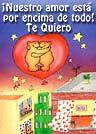Amor - Tarjetas postales: Nuestro amor está encima de todo.