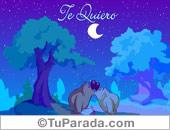 Tarjeta - Tarjeta de Te quiero
