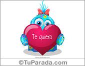 Tarjeta - Ecard de te quiero
