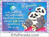 Los osos - Tarjetas postales: Lejos del mundo