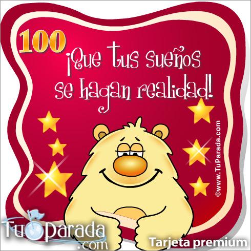Tarjeta - 100 Años