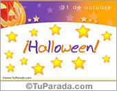 Halloween con estrellas