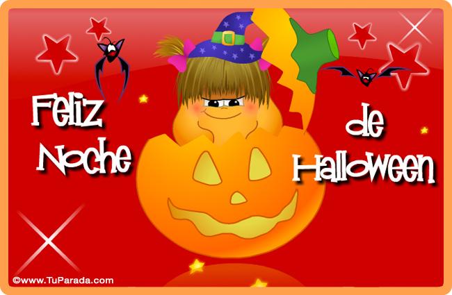 Tarjeta - Feliz Halloween