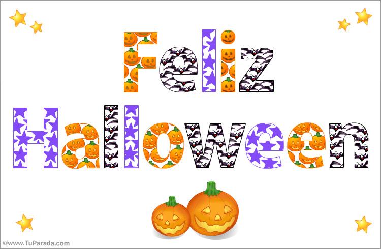 Tarjeta - Tarjeta de Halloween