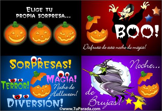 Tarjeta - Postal de Halloween