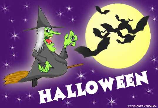 Tarjeta - Diviértete en Halloween