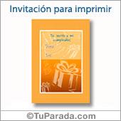 Invitación formal - Todos los dispositivos.