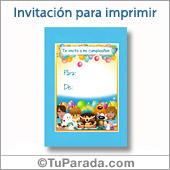 Invitación Fiesta - Todos los dispositivos.