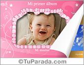 Tarjetas, postales: Álbum de mi beba