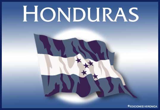 Tarjeta - Bandera de Honduras
