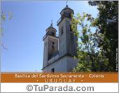 Tarjetas, postales: Basílica Nuestra Sra. del Sacramento