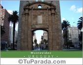 Tarjetas, postales: Montevideo histórico - Uruguay